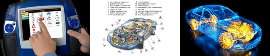 Diagnostic and Car Diagrams